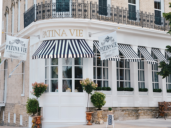 History and Style Collide at Patina Vie!