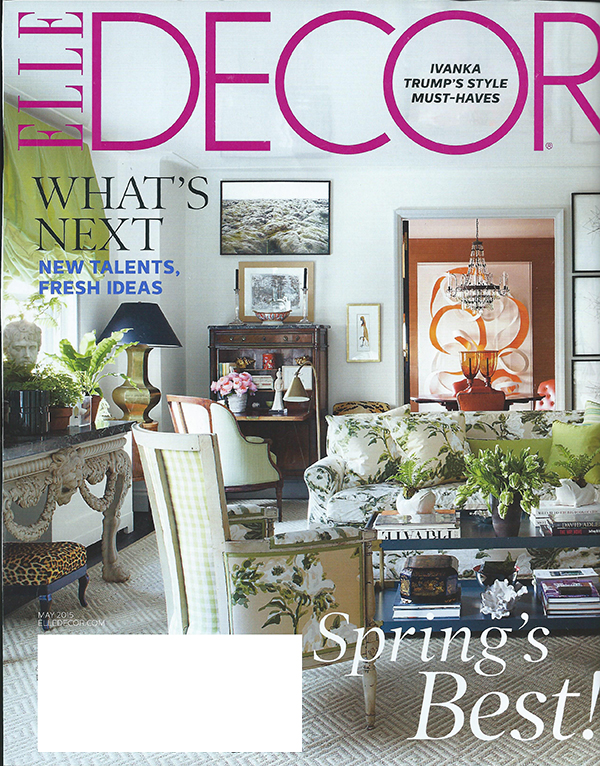 Elle Decor, May 2015, 1 of 8