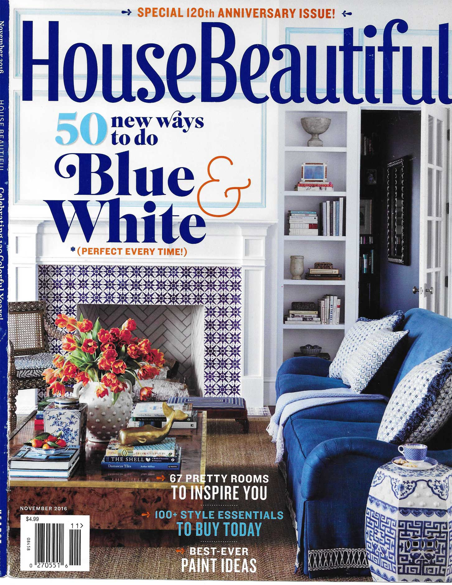 House Beautiful, November 2016, 1 of 1