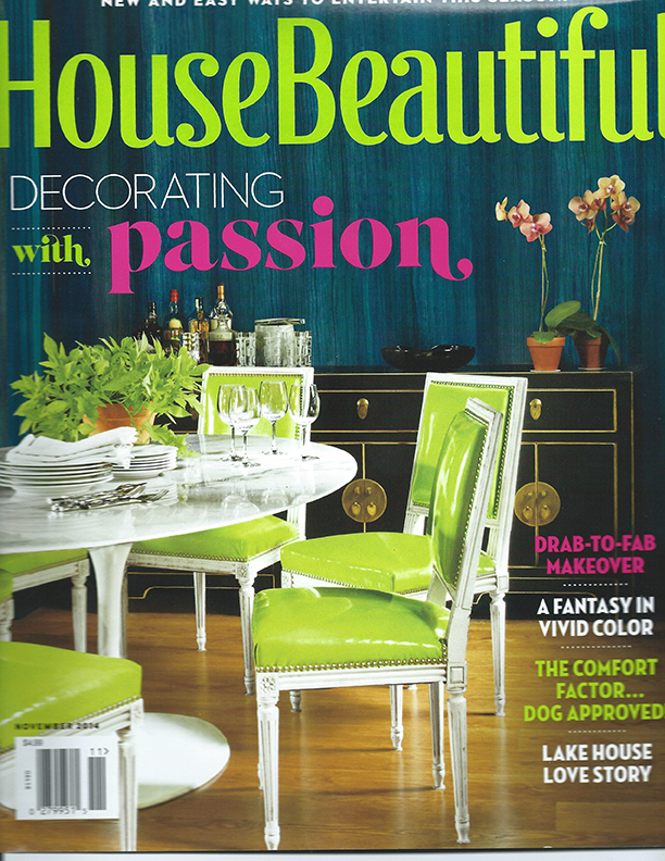 House Beautiful Nov., 2014, 1 of 2