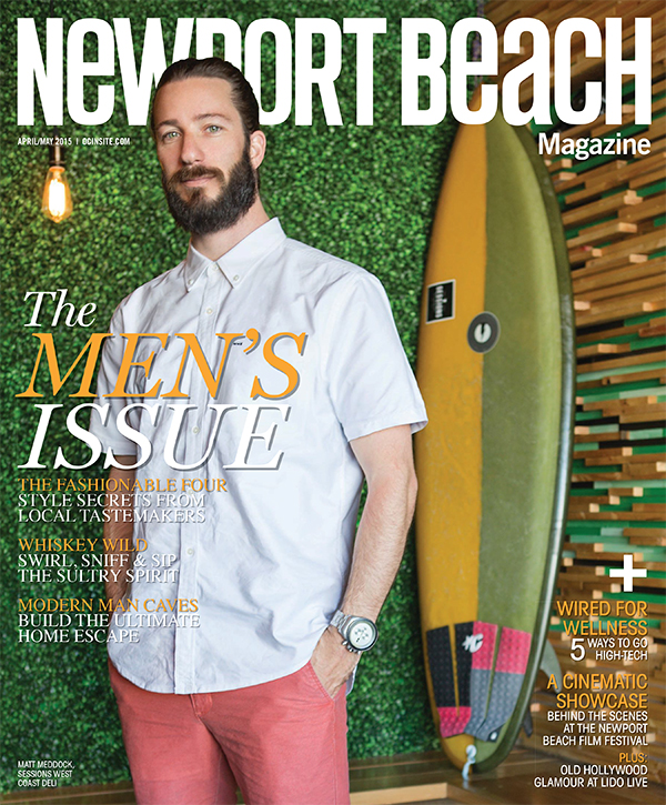 Newport Beach Magazine, April/May 2015, 1 of 3