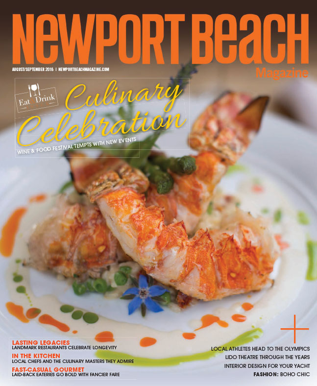 Newport Beach Magazine, Aug/Sep 2016, 1 of 2