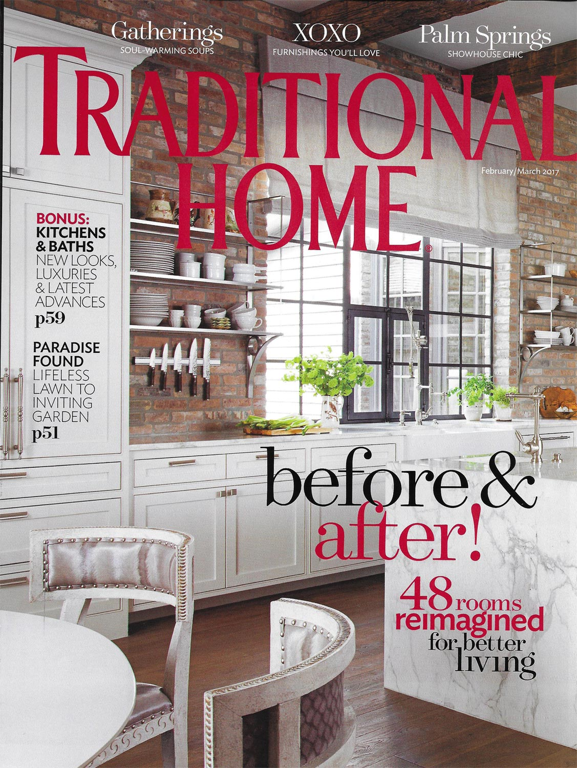 Traditional Home, Feb/Mar 2017, 1 of 3